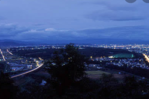 夜景はとても綺麗です❤️